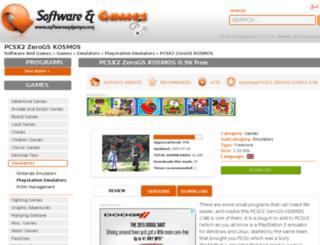 pcsx2zerogs-kosmos.10001downloads.com screenshot
