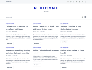 pctechmate.com screenshot