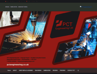 pctengineering.co.uk screenshot