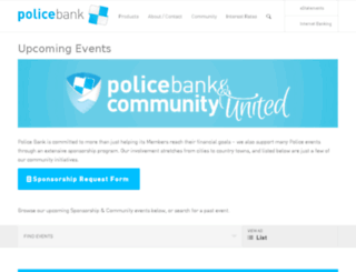 pcu.com.au screenshot