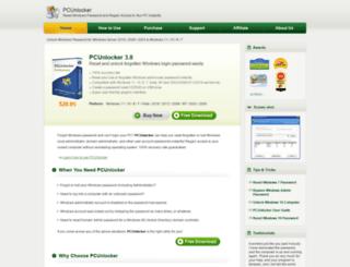 pcunlocker.com screenshot