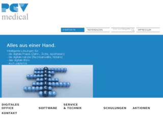 pcv-medical.de screenshot