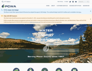 pcwa.net screenshot