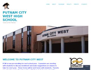 pcwhs.putnamcityschools.org screenshot