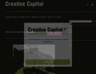 pd.creative-capital.org screenshot