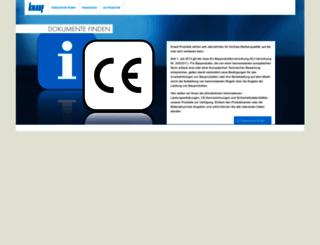 pd.knauf.de screenshot