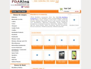 pdaking.com screenshot