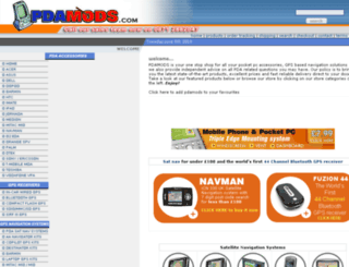 pdamods.com screenshot