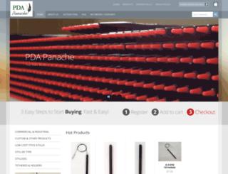 pdapanache.com screenshot