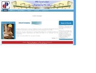 pdcon.co.in screenshot
