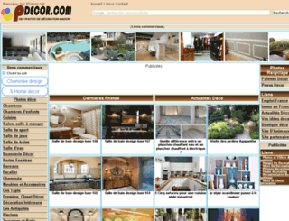 pdecor.net screenshot