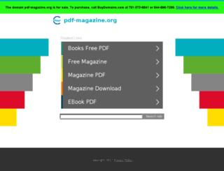 pdf-magazine.org screenshot