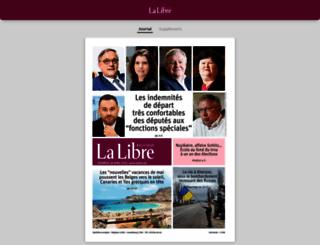 pdf-online.lalibre.be screenshot