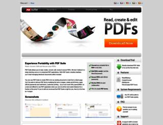 pdf-suite.com screenshot