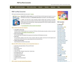 pdf-to-ipad-converter.com screenshot