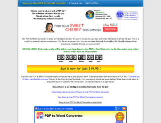 pdf-to-word.easy-to-use-solutions.com screenshot