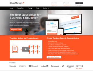 pdf.classmarker.com screenshot
