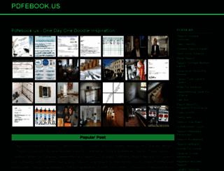 pdfebook.us screenshot