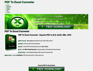 pdfexcelconverter.com screenshot