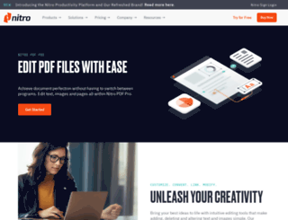 pdfhammer.com screenshot