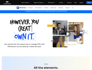 pdfimages.wondershare.com screenshot