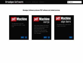 pdfmachine.com screenshot