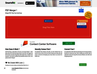 pdfmerge.smartsfile.com screenshot