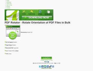 pdfrotator.com screenshot