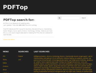 pdftop.com screenshot