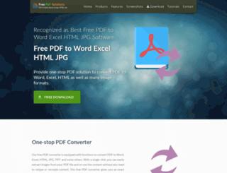 pdftox.com screenshot