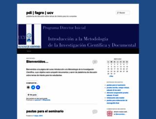 pdifagro.wordpress.com screenshot