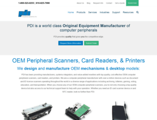 pdiscan.com screenshot