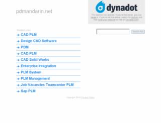 pdmandarin.net screenshot