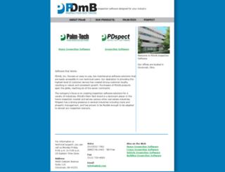pdmb.com screenshot