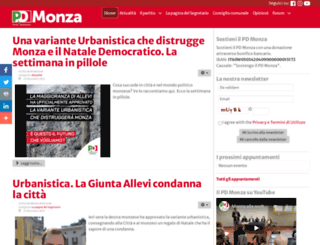 pdmonza.org screenshot