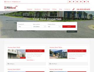 pdreal.com screenshot