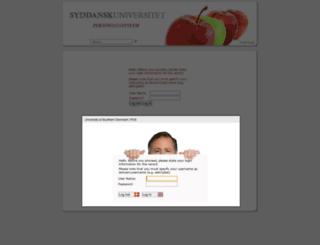 pds.sdu.dk screenshot