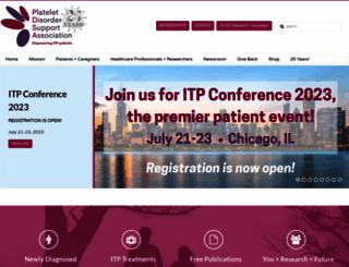 pdsa.org screenshot