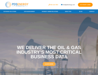 pdsenergy.com screenshot