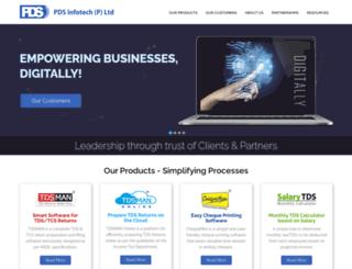 pdsinfotech.com screenshot