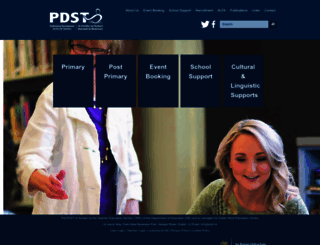 pdst.ie screenshot