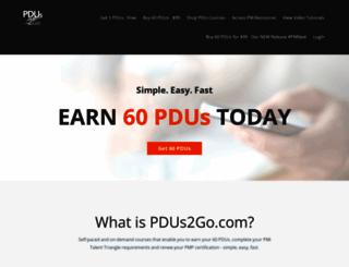pdus2go.com screenshot