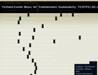 pdxpipeline.wordpress.com screenshot