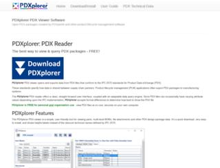 pdxplorer.com screenshot