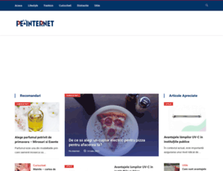 pe-internet.ro screenshot