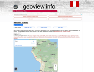 pe.geoview.info screenshot