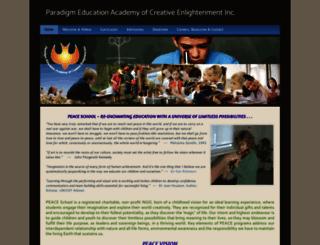 peace-school.netfirms.com screenshot