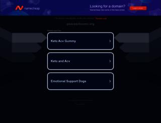 peaceactionmc.org screenshot