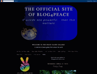 peaceblogger.com screenshot