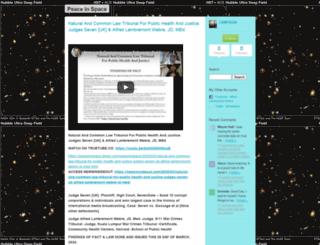 peaceinspace.blogs.com screenshot